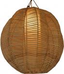 Deckenlampe / Deckenleuchte Conrado - in Bali handgemacht aus Naturmaterial, Rattan,