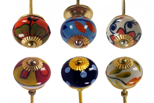 Furniture knobs in classic style