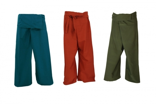 Fisherman pants & wrap pants