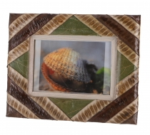 Leaves picture frame