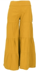 Comfortable palazzo trousers, stepped Marlene trousers, trouser s..