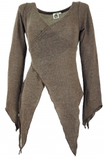 Wickel-Strickjacke, Pixi Wickeljacke - cappuccino