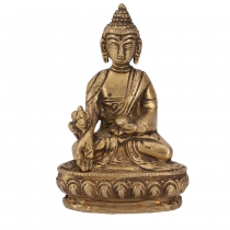 Buddha statue made of brass medicine Buddha 10 cm - model 4