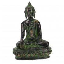 Buddha statue made of brass Akshobaya Buddha 10 cm - model 6