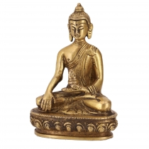 Buddha statue made of brass Akshobaya Buddha 10 cm - model 8