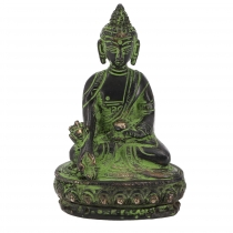 Buddha statue made of brass medicine Buddha 10 cm - model 11