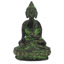 Buddha statue made of brass Akshobaya Buddha 8 cm - model 11