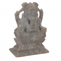 Ganesha soapstone figure, Ganesha sculpture - model 1