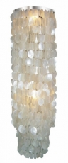 Ceiling Lamp/Ceiling Lamp, Shell Lamp with hundreds of capiz, mot..