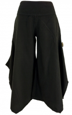 Comfortable palazzo trousers, Marlene trousers, trouser skirt - b..