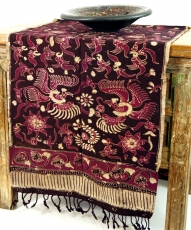 Batik table runner, wall hanging from Indonesia - Design 5
