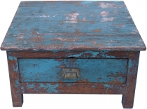 floor writing desk, chest in Shabby Chic Look with 1 drawer - mod..