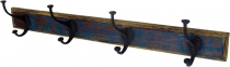 4`er coat hook antique blue