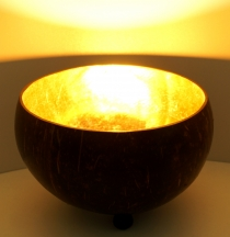 Exotic coconut tea light