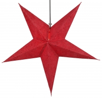 Foldable Advent Starlight Paper Star, Christmas Star Hercules