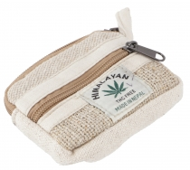 Ethno hemp purse, pencil case