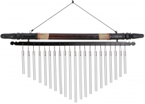 Aluminium chime, wind chime with bamboo - Version 10