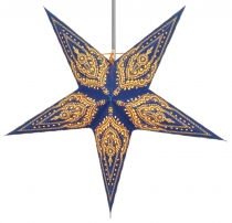 Foldable Advent light paper star, Christmas star 60 cm - Scorpius..