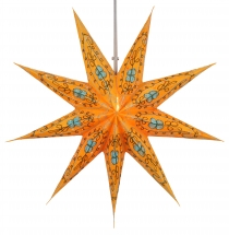 Foldable Advent light paper star, Christmas star 60 cm - Stella o..