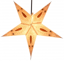 Foldable Advent light paper star, Christmas star 60 cm - Ontario