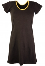 Goa mini dress Boho-chic - coffee