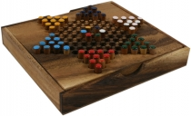 Board game, board game made of wood - Halma