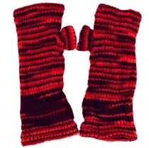 Hand gauntlets from Nepal multi - red