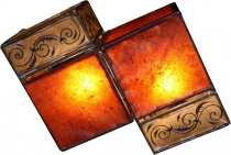 Henna Lamp Leather Wall Lamp/Wall Lamp - Jaipur