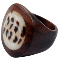 Wooden ring 16