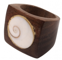 Wooden ring 20