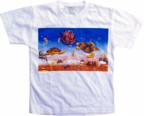 Kids T-Shirt Hippie Goa with `Turtle`