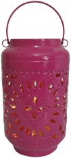 Metal lantern, wind light, garden lantern in 5 colours