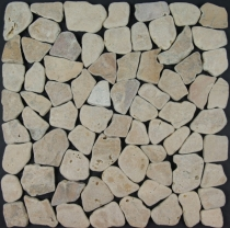 Sand marble mosaic tiles (S-04) - Design 4