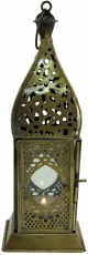 oriental brass/glass lantern in Moroccan design, lantern - model ..