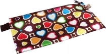 Retro Wallet Make-up Bag `Heart`