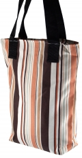 70`s Retro shopping bag striped