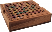 board game, wooden board game - snake on the ladder
