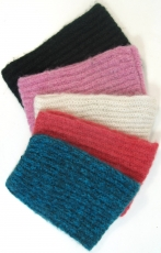 Wool tubular scarf in 5 colours