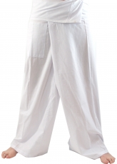 Thai cotton fishing trousers, wrap trousers, yoga trousers - L/XL..