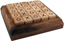 Board game, board game made of wood - Tic-Tac-Toe