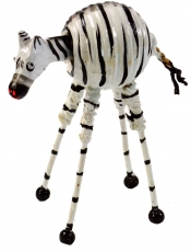 Bobble head animal, bobble animal - Zebra 2