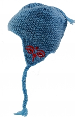 Woollen cap with ear flaps - 22