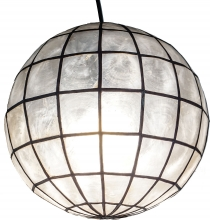 Pendant lamp Kokopelli Pricessa ball - Model 1