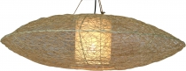 Ceiling lamp/ceiling light, handmade in Bali from natural materia..