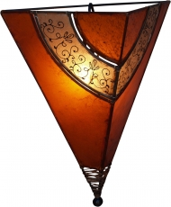 Henna Lamp, Leather Wall Lamp/Wall Lamp - Venus oriental