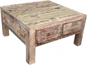 Coffee table, coffee table, side table with drawer - model 9 - 45x85x85 cm