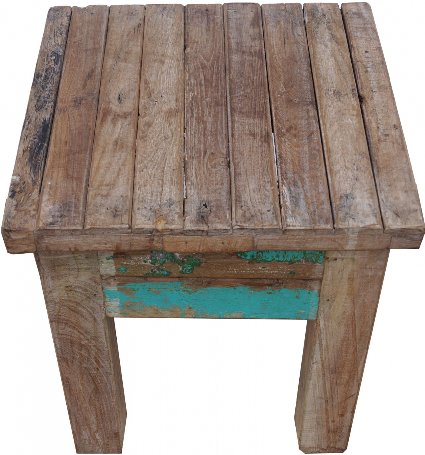 - Vintage Coffee Table, Coffee Table Made Of Recycled Wood - Model