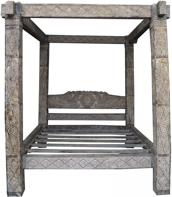 - Canopy Bed East Timor - Model 4 - 240x212x248 Cm