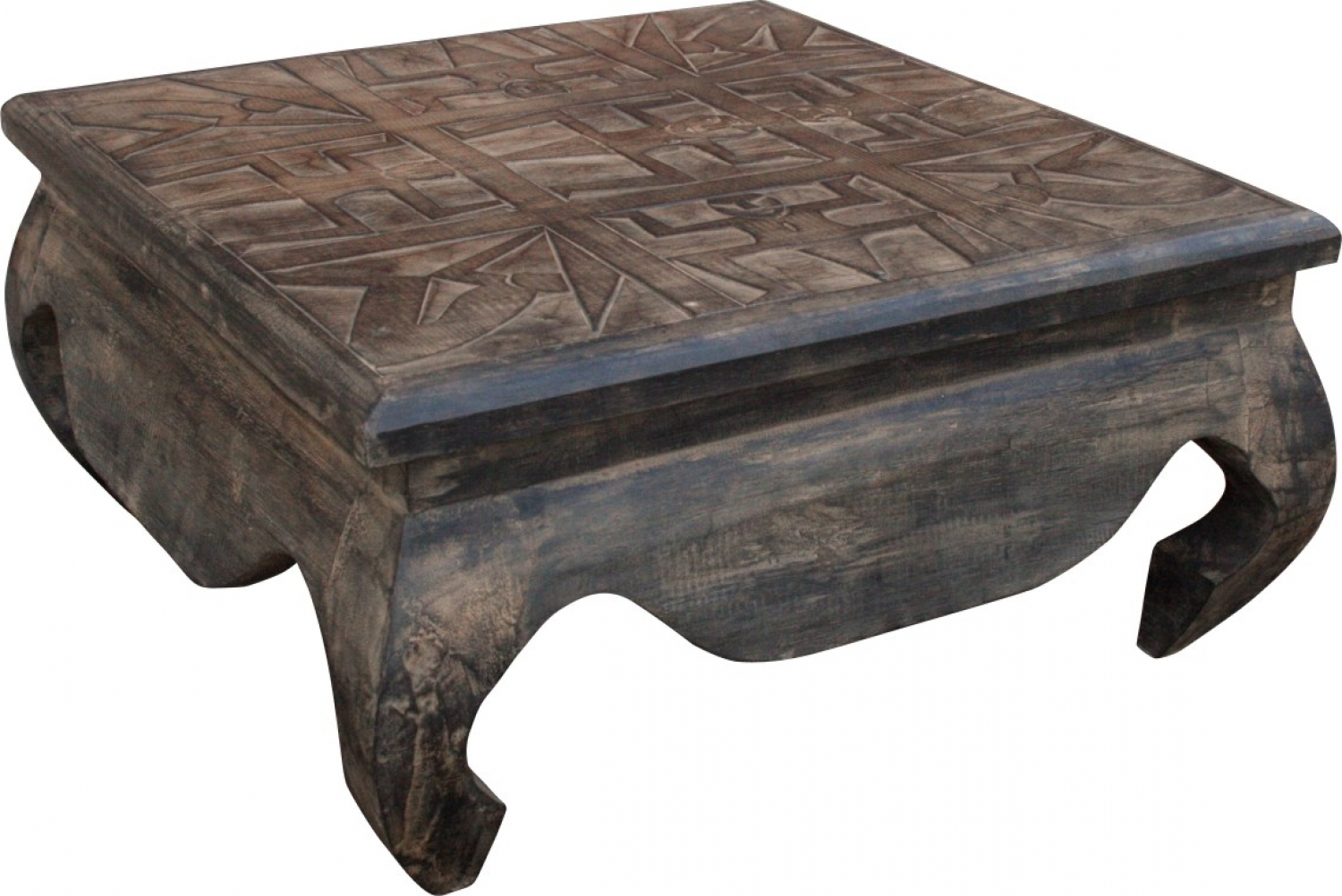 - Opium Tables, Coffee Table, Side Table, Coffee Table, Carved
